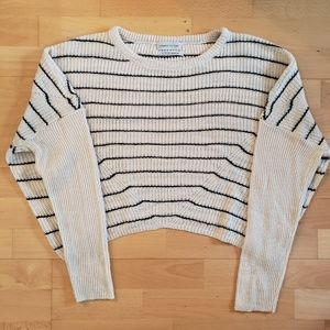 Urban Outfitters - Cropped Striped Sweater